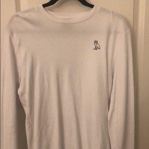 OVO Full Sleeved White Shiet